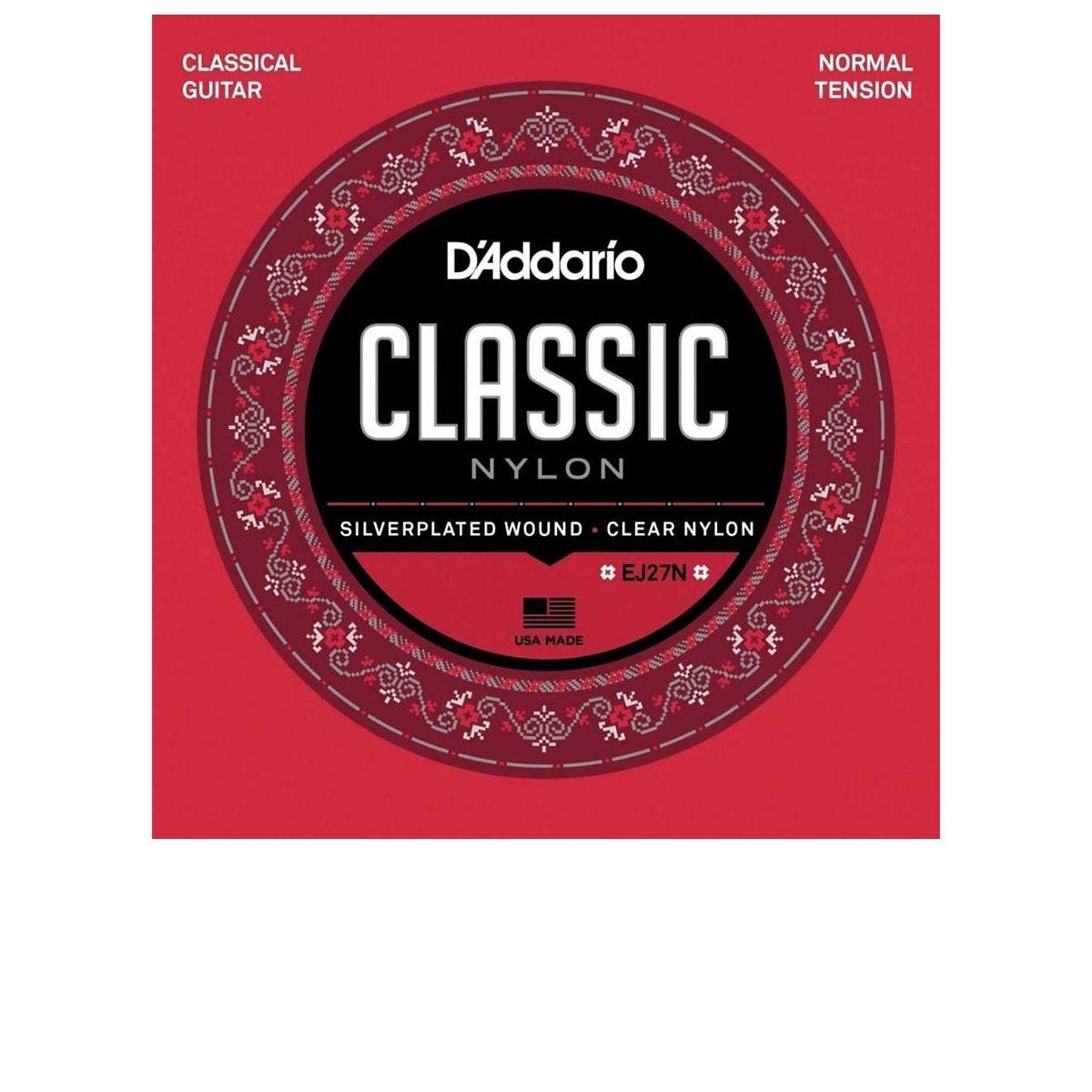 Encordoamento de Violão Nylon D'Addario Classic