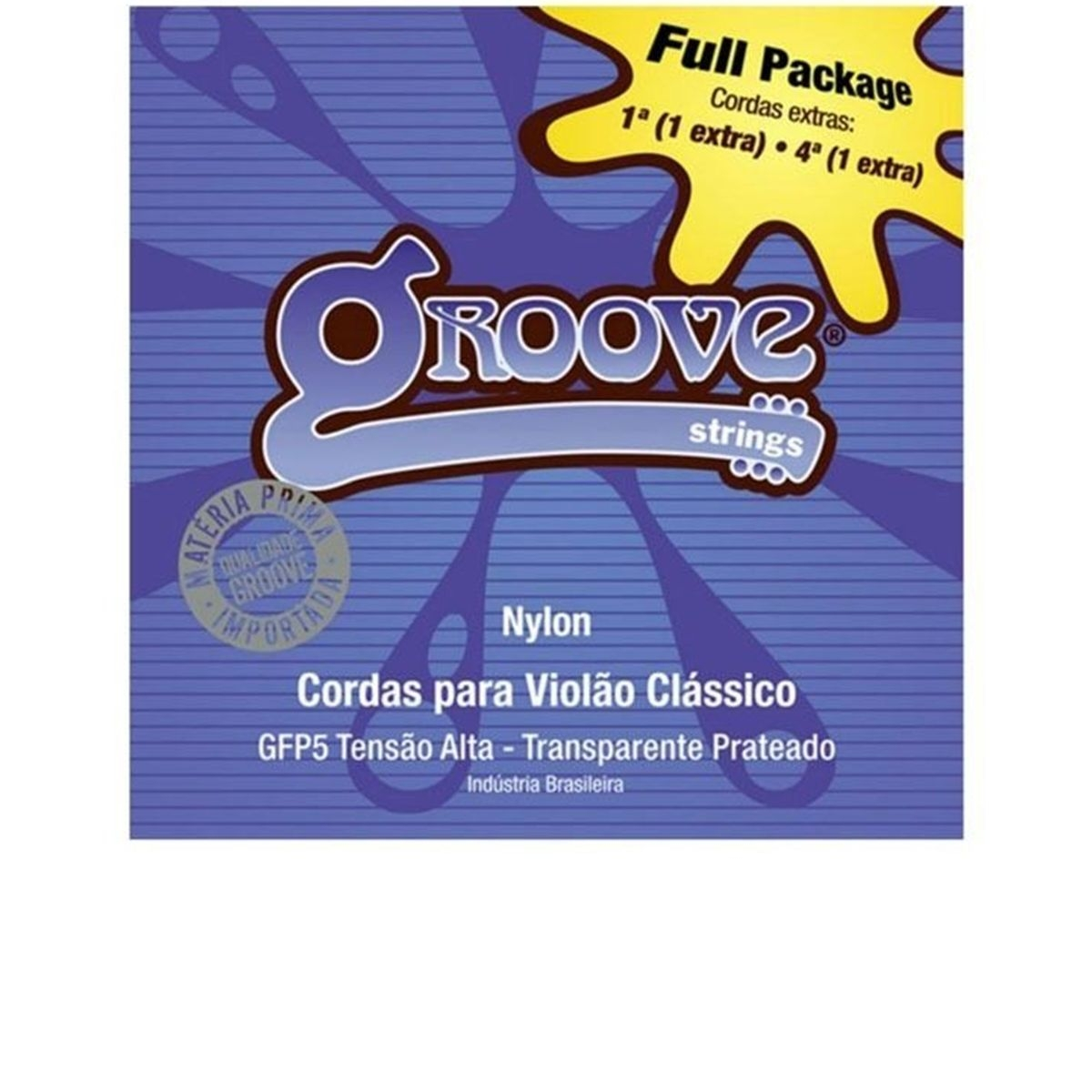 Encordoamento de Violão Nylon Groove