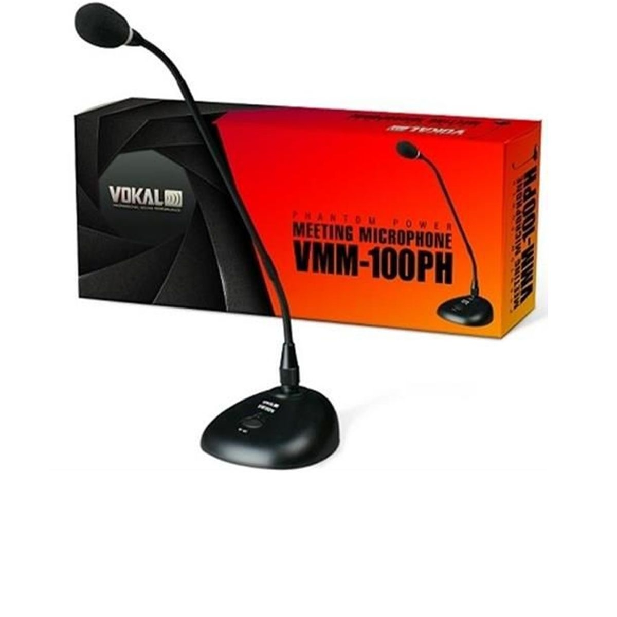 Microfone de Mesa Profissional Vokal VMM-100 PH