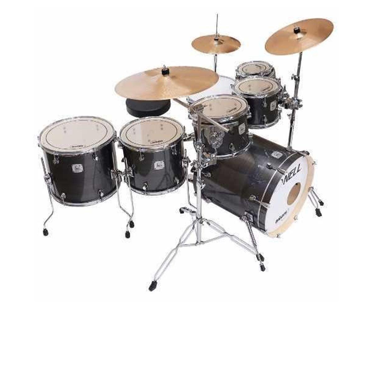Bateria Acústica Nell Drums Tc7 3 Tons