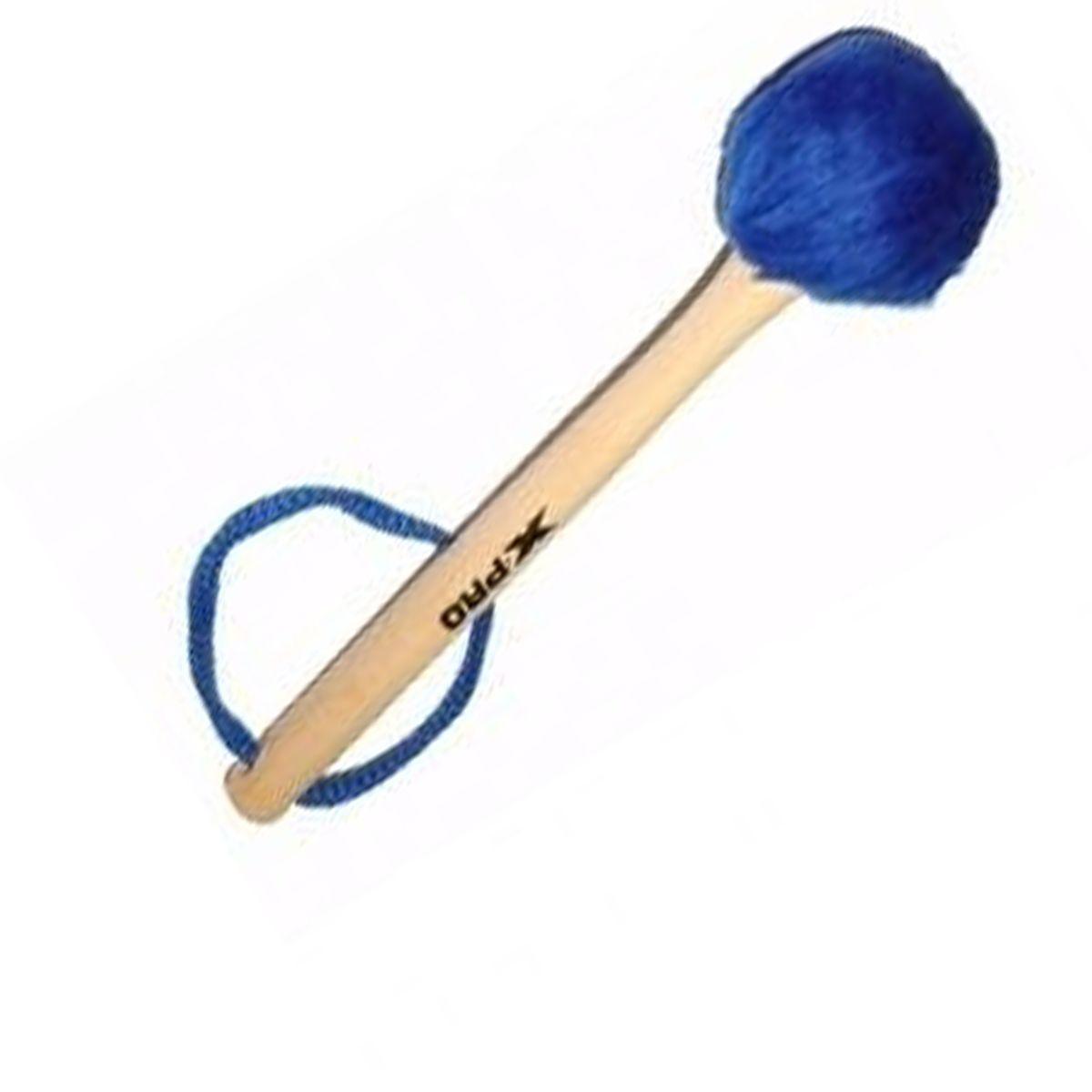 Baqueta de Pelúcia para Bumbo XPRO Azul