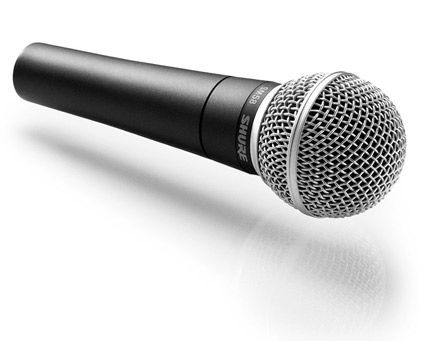 Microfone com Fio Shure SM58