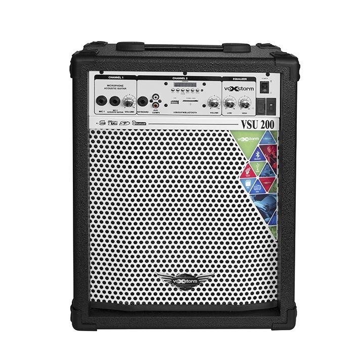 Caixa de Som Multiuso VoxStorm VSU200 Bluetooth/USB