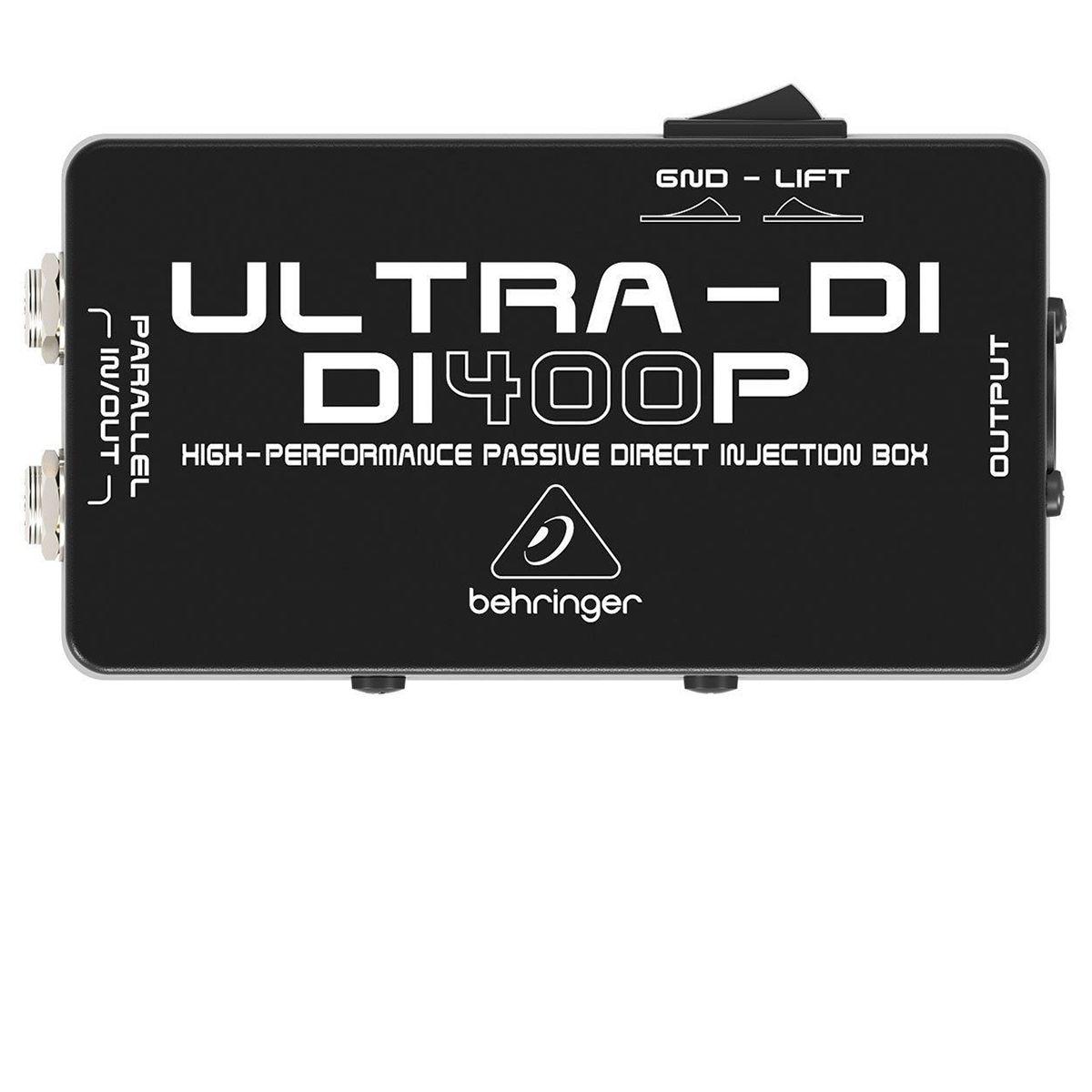 Direct Box Passivo Behringer Ultra Di400P
