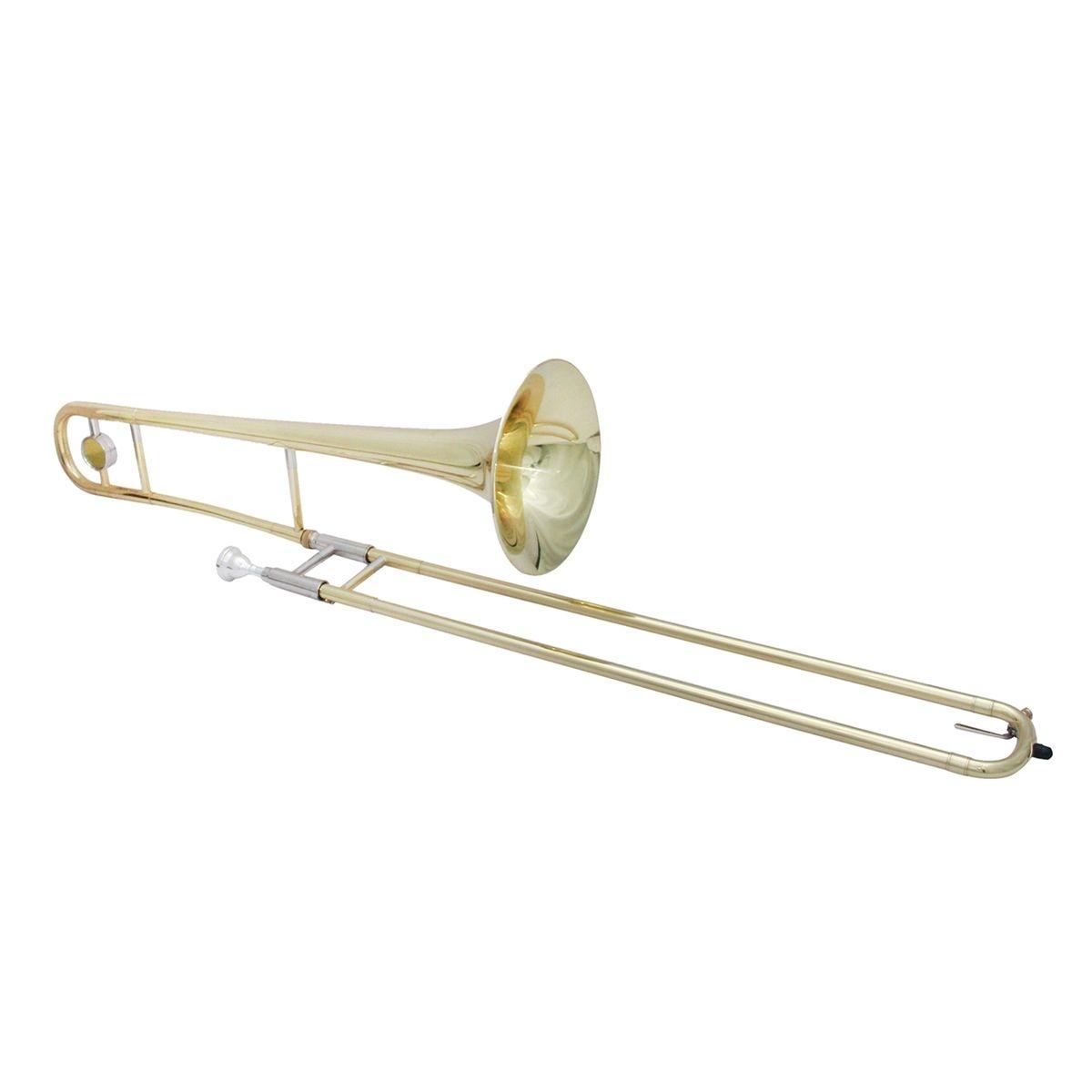 Trombone de Vara Bb Harlem com Bocal e Estojo