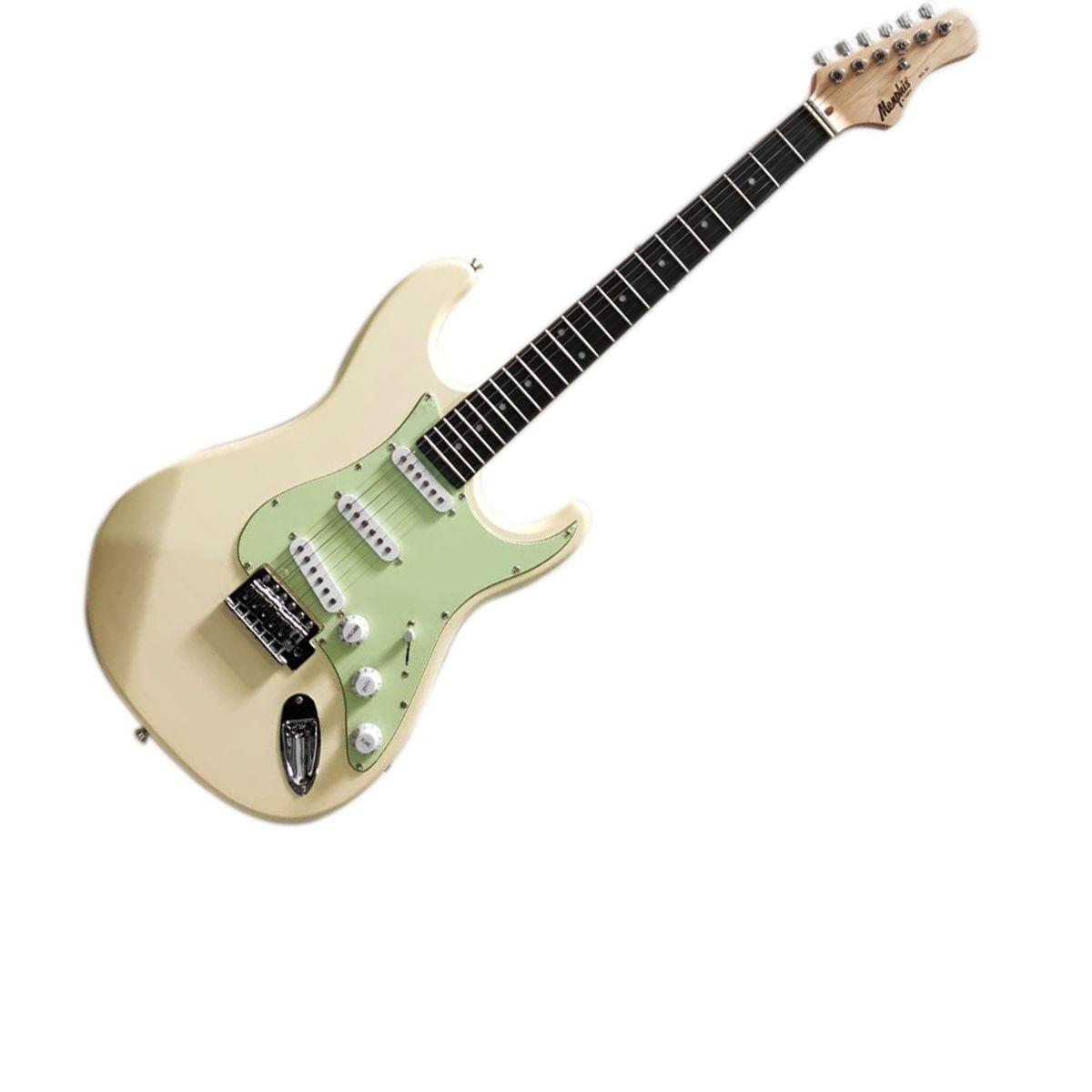 Guitarra Memphis MG-30 Olympic White Satin
