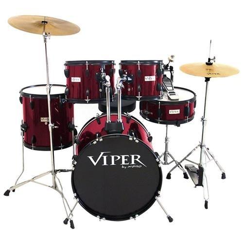 Bateria Acústica Viper X-Pro Vinho