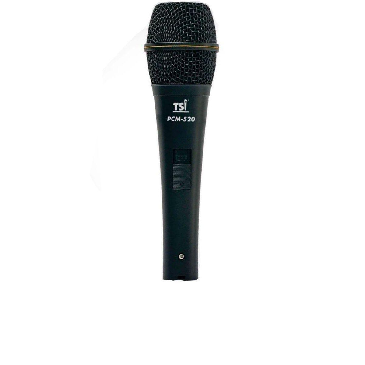 Microfone TSI PCM-520 com Capsula de Condensador