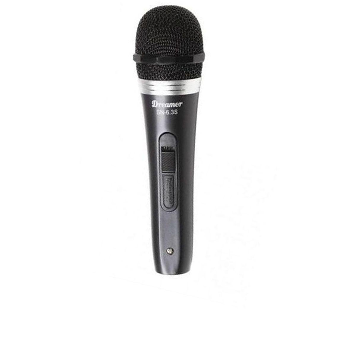 Microfone Com Fio Dreamer SN-6.3S