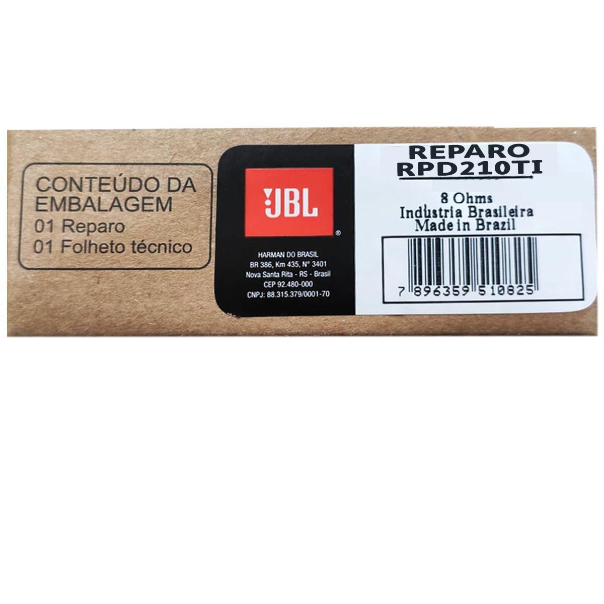 Reparo JBL para Driver RPD210TI