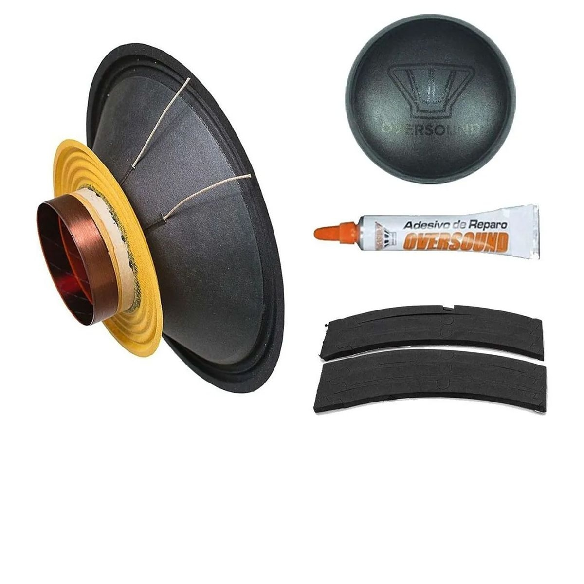 Kit Reparo Oversound MG12-300 8 Ohms