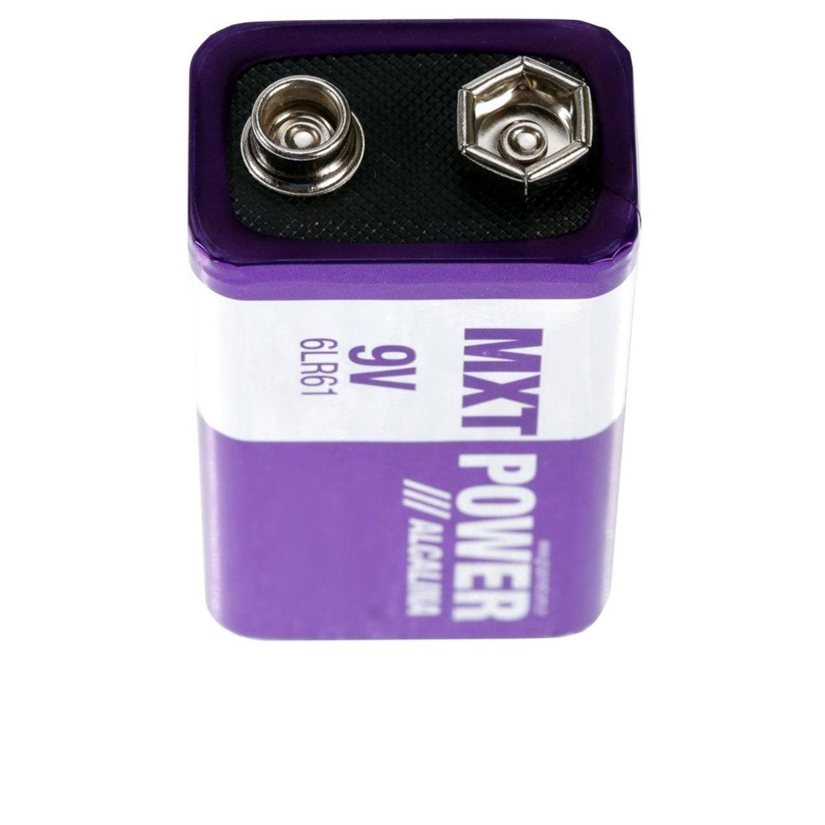 Bateria 9V Power Alcalina MXT 6LR61