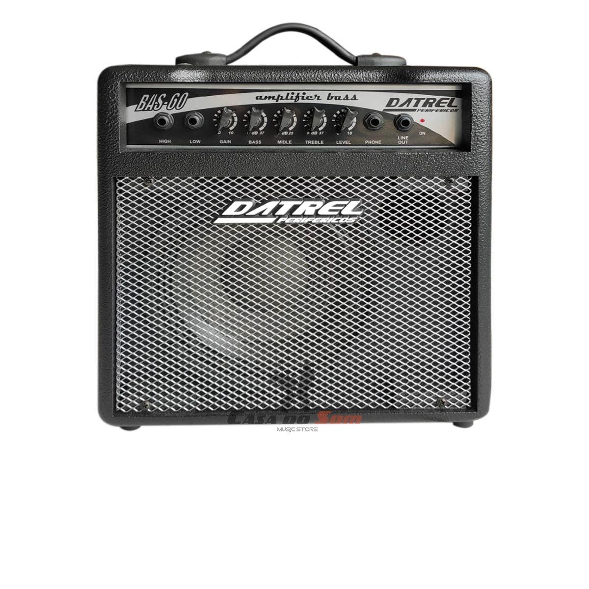 Amplificador de Contra Baixo Datrel BAS60 Estudo 60w