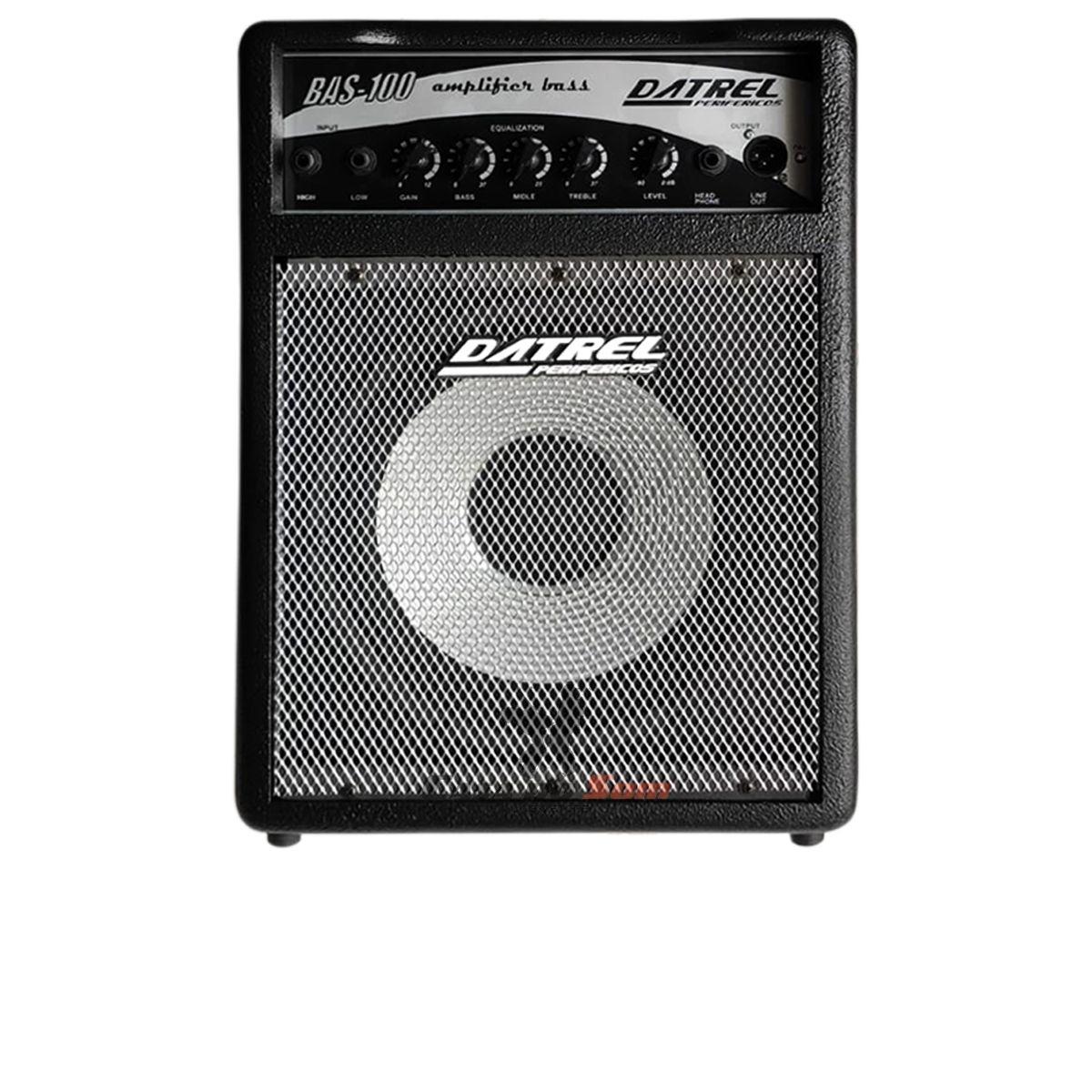 Amplificador de Contra Baixo Datrel BAS100 100w