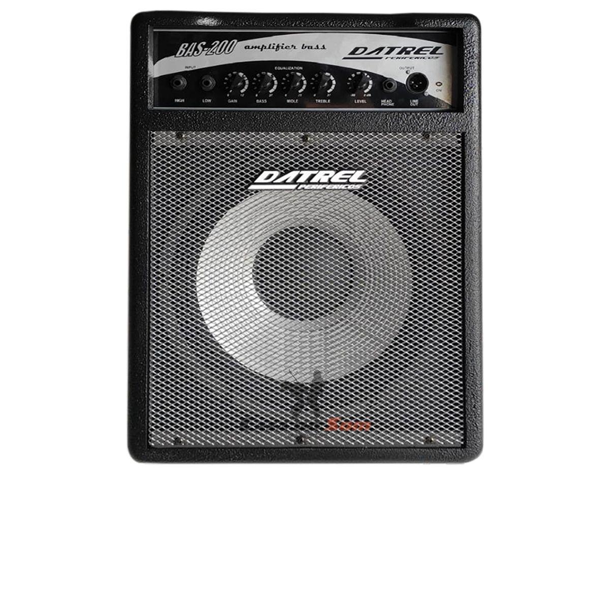Amplificador de Contra Baixo Datrel BAS200 200w